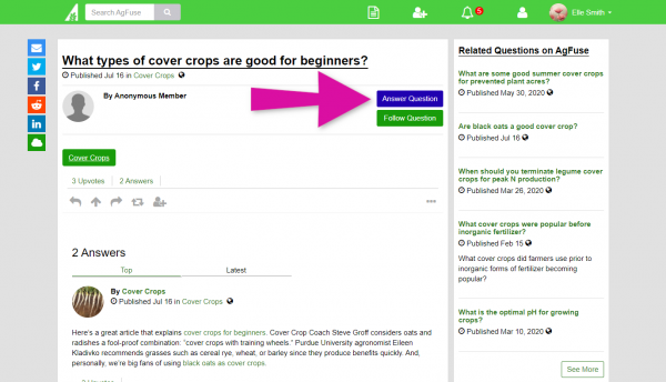 What Is AgAnswers? A Helpful Q&A Tool from AgFuse